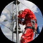 Antennijärjestelmän kunto- ja mittauskartoitukset